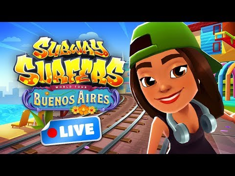 🔴-subway-surfers-world-tour-2018---buenos-aires-gameplay-livestream