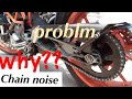 Chain problm kaise solve kare. KTM/DuKe/RC290/PulsarRS200 how to maintain your bike. drive chain