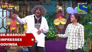 Dr. Mashoor impresses Govinda - The Kapil Sharma Show