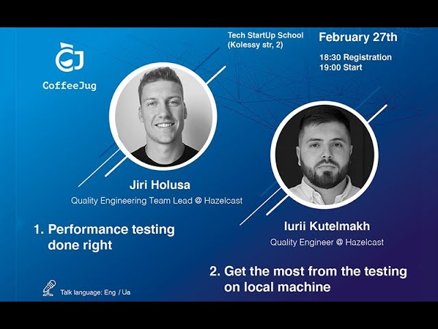 Performance Testing Done Right by Jiri Holusa | CoffeeJUG Meetup