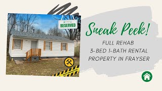 Featured Property: Full Rehab 3-Bed 1-Bath Rental Property in Frayser!