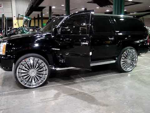 Escalade On 30 Quot Spinners Youtube