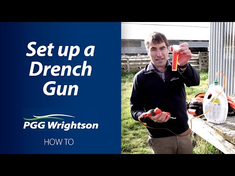 How To Set Up A Drench Gun | PGG Wrightson