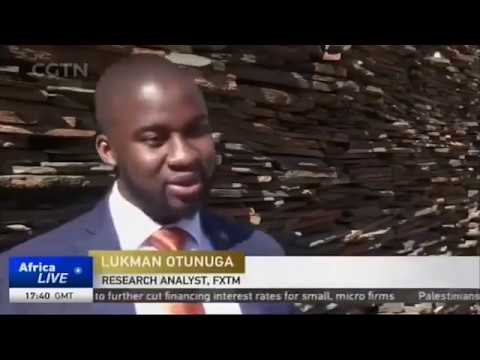 Global themes impacting South African economy [CGTN News interview with Lukman Otunuga | 26.06.19]