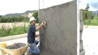 Cómo construir un muro en bloque (Acabados - parte III)