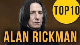 Alan Rickman neměl hrát profesora Snapea! TOP 10 zajímavostí