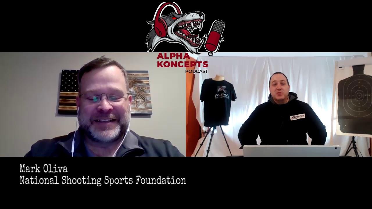 Mark Oliva from the NSSF - Alpha Koncepts Podcast