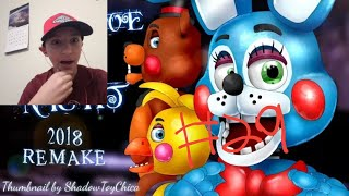 "Goober Reacts # 29 | [FNAF SFM] FNAF 2 SONG ANIMATION ""Survive The Night"" Remake By BonBun Films"