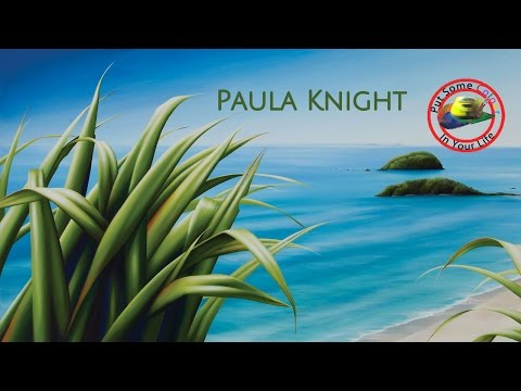Fine Art Show with Paula Knightand her beautiful landscapes on Colour In Your Life