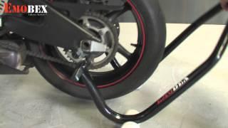 Cómo regular y colocar caballete moto racing una sola persona