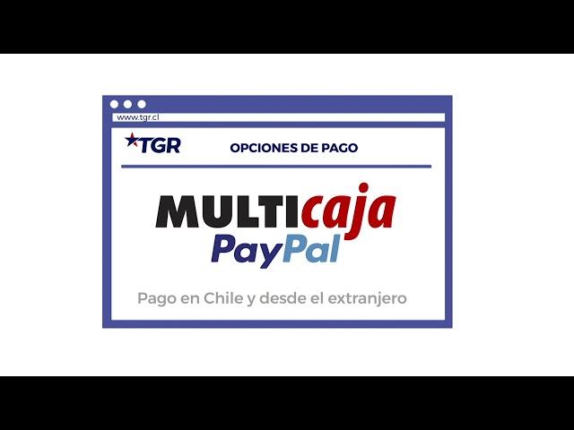 Nuevo Método de Pago MultiCaja PayPal