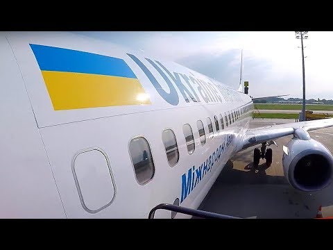 UKRAINE INTERNATIONAL BOEING 737-800  | AMSTERDAM - KIEV