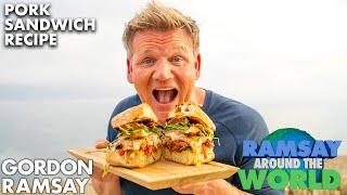 I Make the Ultimate Pork Sandwich in Portugal  Gordon Ramsay