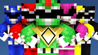 Power Rangers IN MINECRAFT [Minecraft Animation]