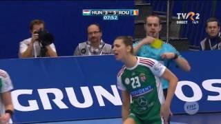 Romania - Ungaria 29-21 CE 2016 ( first half )