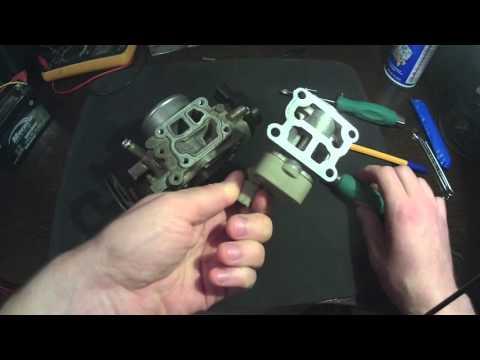 Обзор и регулировка Блока Дроссельной заслонки Toyota 3S-FE часть 1