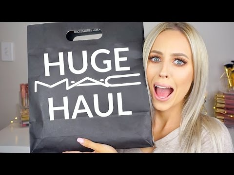 HUGE MAC COSMETICS HAUL
