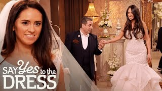 Bride Hates Dress Shopping as Clothes Are Usually Too Big on Her! | Say Yes To The Dress Ireland thumbnail