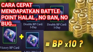 CARA MENDAPATKAN BATTLE POINT HALAL MOBILE LEGENDS