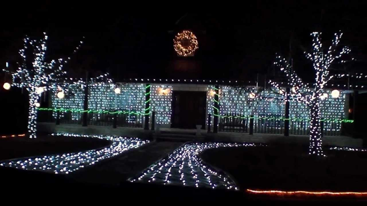 snowfall led christmas lights - Snowfall Christmas Lights
