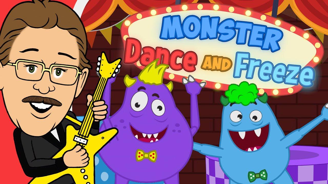 Download Monster Dance |  Freeze Dance | Jack Hartmann