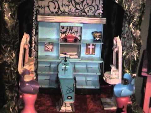 Mansion de las monster high super youtube - Casa de monster high ...