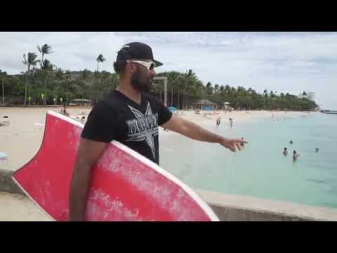Waikiki Walls with Kainoa McGee Keiko On The Go on Oahu
