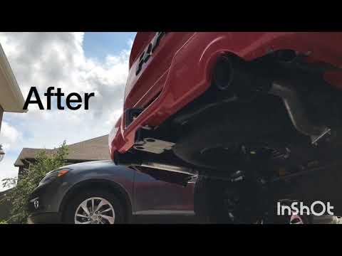 2017 Dodge Ram 5.7 Hemi Sport Night Edition Catback Exhaust