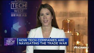 Big Tech leaders meet to discuss how to navigate the trade war