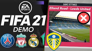 In today's special edition of the fifa news show, 21 demo has been cancelled, with ea deciding not to make one this year. also released full ...