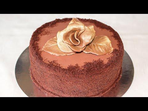 Ваши Мужчины Это Оценят! Шоколадный Торт Трюфель к 23 февраля ✧ Ирина Кукинг