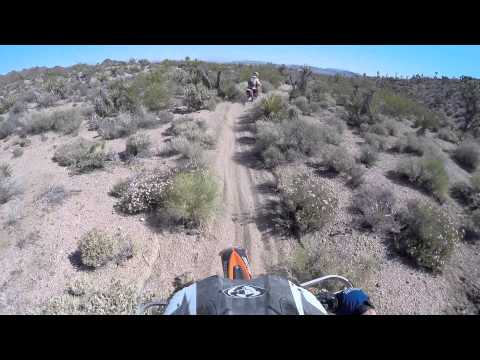 Las Vegas desert dirt bike tour