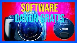 Como Instalar el Software de Canon EOS sin CD