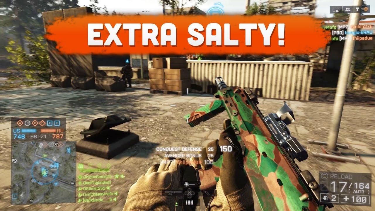 EXTRA SALTY! - Battlefield 4