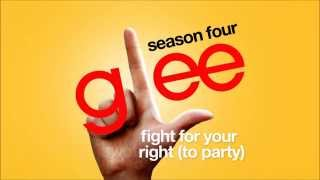Fight For Your Right (To Party) - Glee Cast [HD FULL STUDIO]