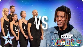 KNOCKOUT MATCH: Attraction vs Tokio Myers | Britain's Got Talent World Cup 2018