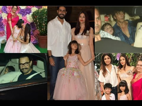 In Graphics: INSIDE PICS from Aaradhya Bachchan's 6th birthday bash: Aishwarya's daughter