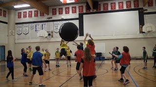 Phys Ed Tutorial -  Large Space Games
