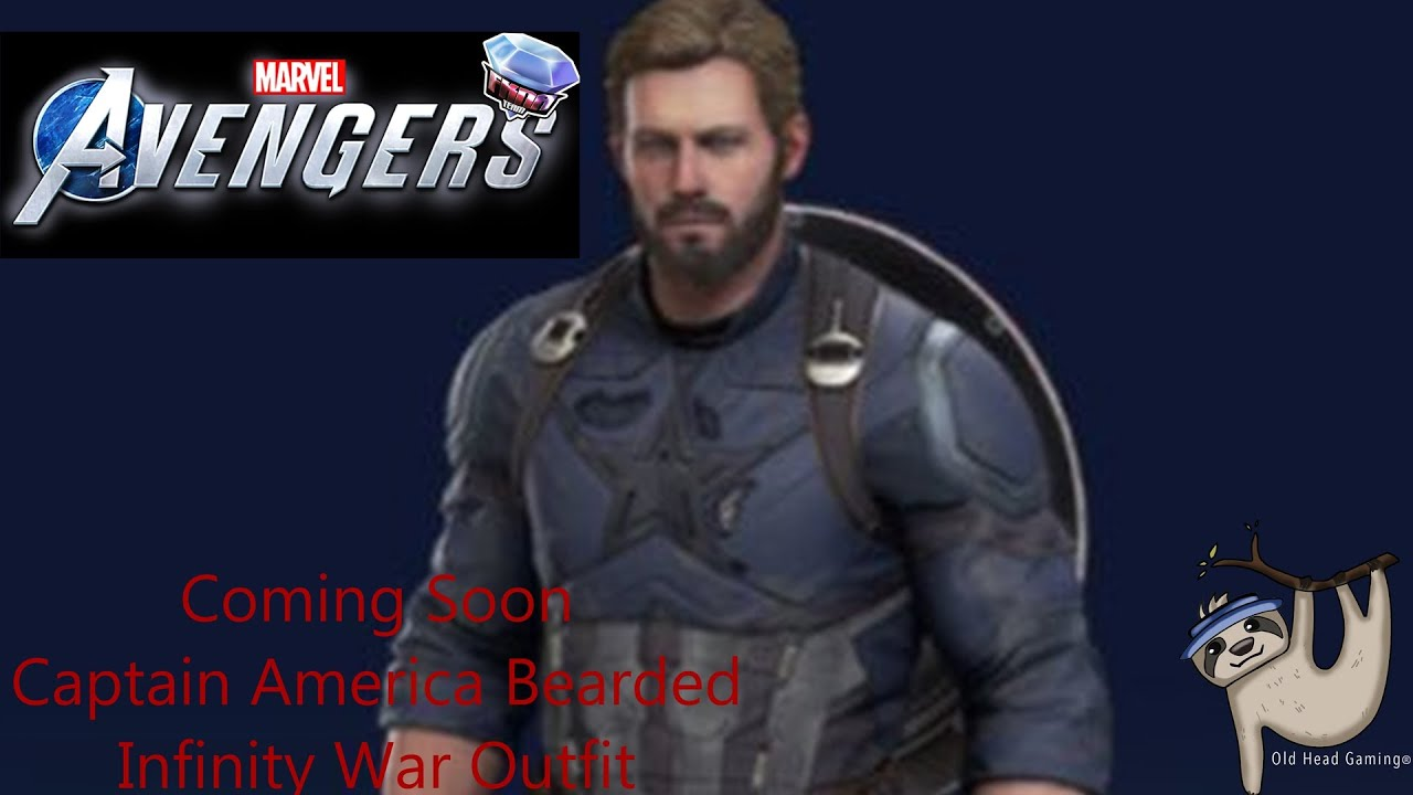 Download Captain America Infinity War Outfit for Marvel's Avengers