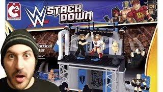 WWE Stackdown Shield Training Centre Review!!!
