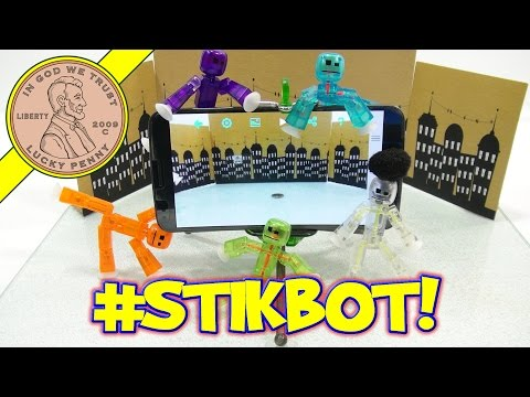 #StikBot Studio, Create, Animate & Share, Penny Fight Stop Motion