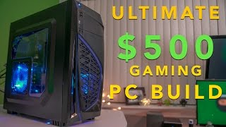 The Best GTX 1050ti $500 Computer Build (Early 2017)
