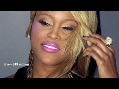 Top 10 Richest Female Rappers in the World [HD]