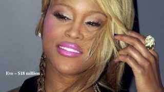 Top 10 Richest Female Rappers in the World 2014 [HD]