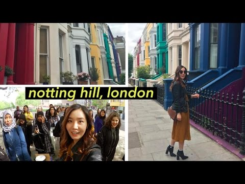 London's Notting Hill + Getting Kicked Out of Tate Modern... 😅