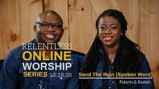 Send The Rain - Spoken Word (Live) - Folarin & Keziah