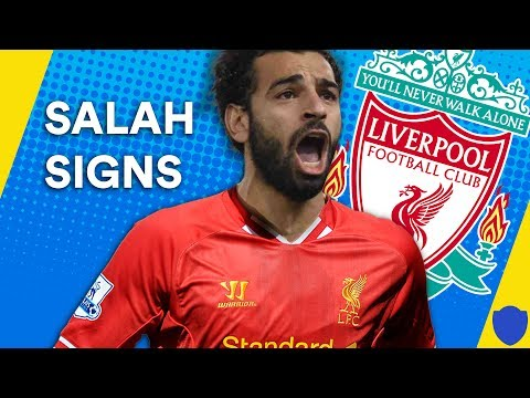 SALAH FINALLY SIGNS AFTER LIVERPOOL AGREE TRANSFER FEE WITH ROMA | TITS