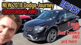 2018 Dodge Journey Crossorad AWD Review