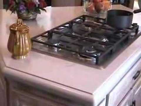 Corian Countertop Repair And Restoration   YouTube