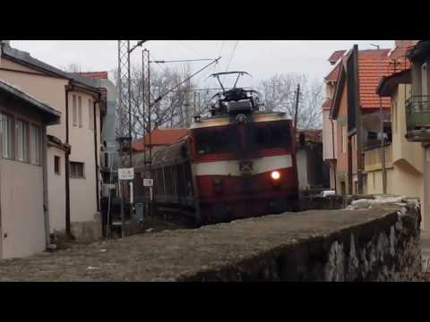 Railfanning #10 Trains in Veles, Macedonia, February 2018
